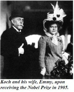 Robert Koch and His wife